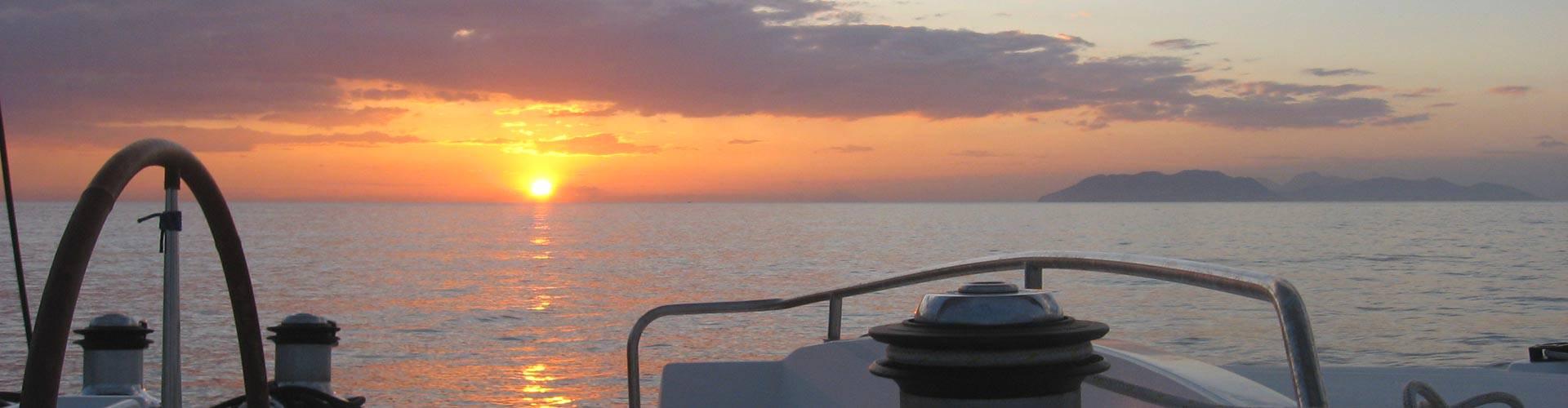 L'emozione di navigare...